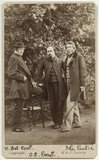 William Bell Scott; Dante Gabriel Rossetti; John Ruskin