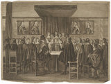 Charles II addressing the States General, the members all standing (King Charles II)