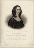 possibly Isabella Compton (née Sackville), Countess of Northampton, formerly known as Anne, Countess of Pembroke (Lady Anne Clifford)