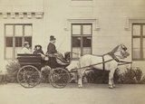 Princess Louise Caroline Alberta, Duchess of Argyll, Princess Beatrice of Battenberg and Queen Victoria driving