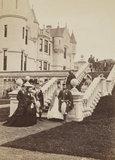 Group of fifteen, including Queen Victoria