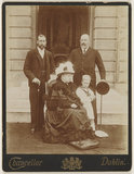 'Four Generations' (King George V; Queen Victoria; King Edward VII; Prince Edward, Duke of Windsor (King Edward VIII))