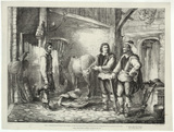 Oliver Cromwell and Henry Ireton