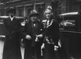 Sir John Lavery; Jessie Doris (née Delevingne), Viscountess Castlerosse and an unknown woman