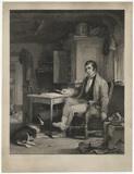 Fictitious portrait of Robert Burns
