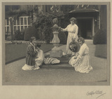 Lallie Charles (née Charlotte Elizabeth Martin); Ida Adams and an unknown woman