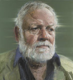 The Dialects of Silence (Portrait of Michael Longley) by Colin Davidson