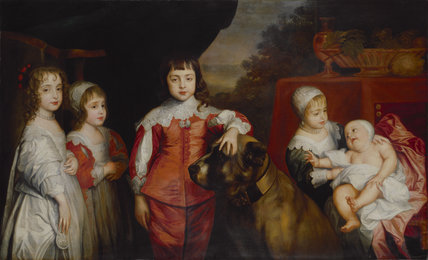 Five Children of King Charles I