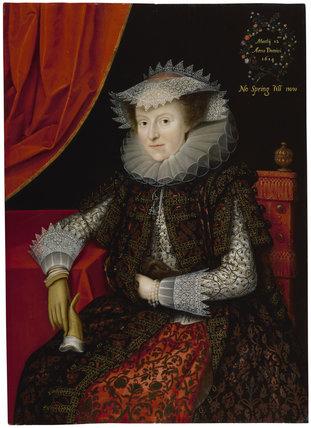 Probably Mary (née Throckmorton), Lady Scudamore