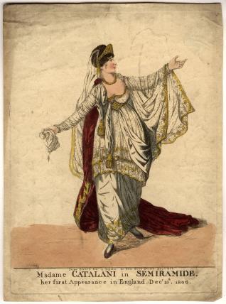 Angelica Catalani ('Madame Catalani in Semiramide')