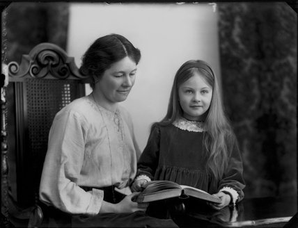 Lettice Fisher (née Ilbert); Mary Letitia Somerville Bennett (née Fisher)