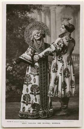Anna Pavlova and Michael Mordkin performing the Russian Dance