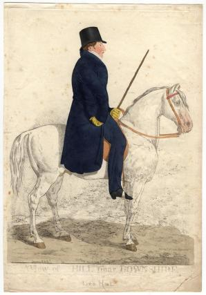 Arthur Trumbull Hill, 3rd Marquess of Downshire ('A view of Hill near Downshire')
