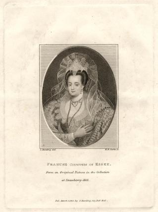 Possibly Frances Devereux (née Walsingham), Countess of Essex