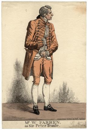 'Mr William Farren as Sir Peter Teazle' (William Farren)