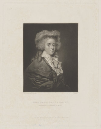 Anna Maria Kynynmound (née Amyand), Countess of Minto when Lady Elliott