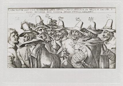 The Gunpowder Plot Conspirators, 1605