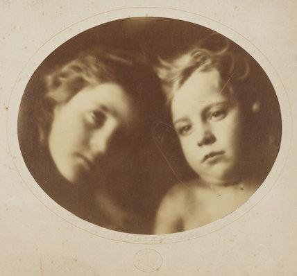 'Cherub and Seraph' (William Frederick Gould; Elizabeth Keown)