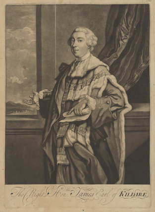 James Fitzgerald, 1st Duke of Leinster when Earl of Kildare