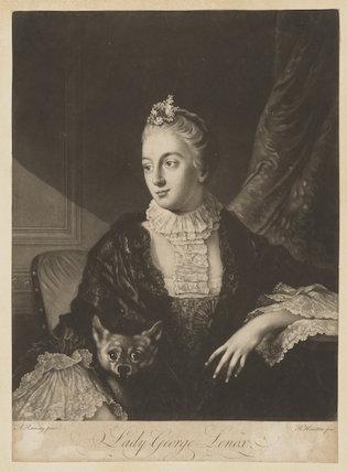 Lady Louisa Lennox (née Kerr)