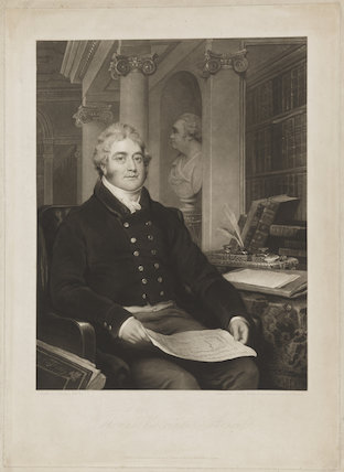 Thomas William Anson, 1st Earl of Lichfield when Viscount Anson