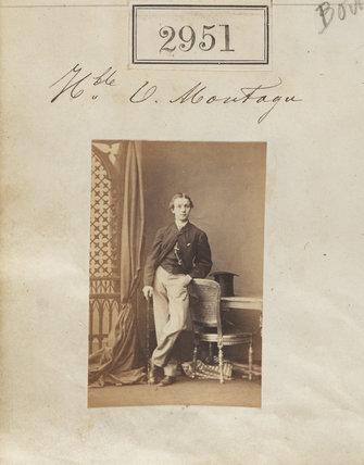 Hon. Oliver George Paulett Montagu