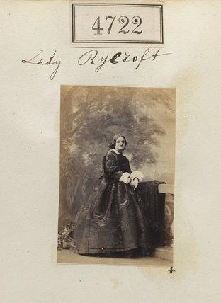 Charlotte Anne Josephine (née Tennant), Lady Rycroft