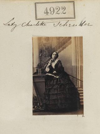 Lady Charlotte Elizabeth Schreiber (née Bertie)