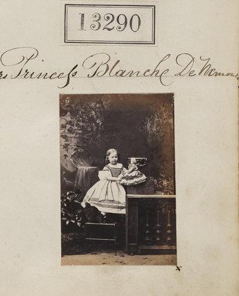 Princess Blanche d'Orléans