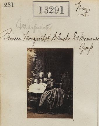 Princess Blanche d'Orléans; Princess Marguerite Adelaide d'Orleans
