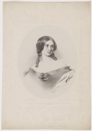 Mary Julia Fellowes (née Milles), Lady de Ramsey