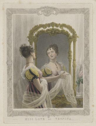 Emma Sarah Love (Mrs Calcraft) as Vespina in Bishop and Payne's 'Clari'