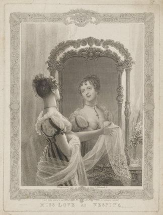 Emma Sarah Love (Mrs Calcraft) as Vespina in Bishop and Payne's 'Clari'