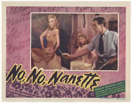 Anna Neagle; Richard Carlson in 'No, No, Nanette'