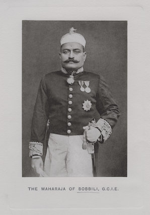 Sir Venkata Svetachalapati Ranga Row, Maharajah of Bobbili