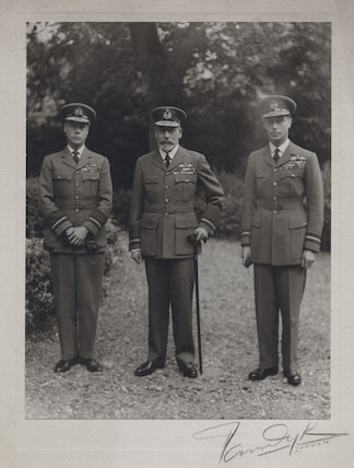 Prince Edward, Duke of Windsor (King Edward VIII); King George V; King George VI