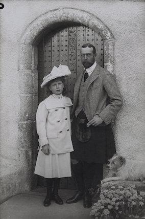 Princess Mary, Countess of Harewood; King George V