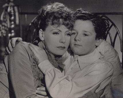 Greta Garbo and Freddie Bartholomew in 'Anna Karenina'
