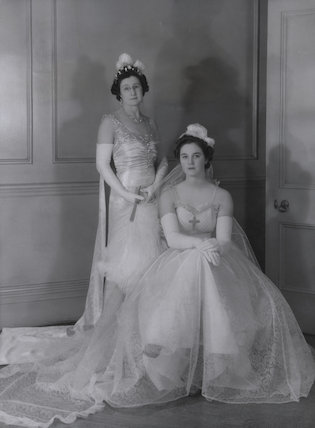 Emily Gladys Walpole (née Oakes), Countess of Orford; Lady Anne Sophia Berry (née Walpole)