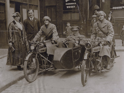 Elsie Knocker; Baron Harold de T'Serclaes; Mairi Chisholm
