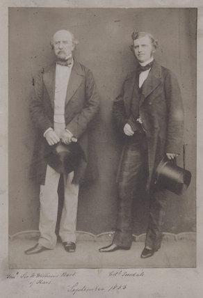 Sir William Fenwick Williams, 1st Bt; Sir Christopher Charles Teesdale