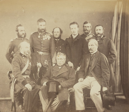 Officers connected with the Crimean War