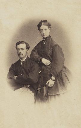 Henry George Pilleau; Caroline Fitzroy Pilleau