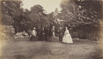 Mrs Collinson; Mrs A. Fisher; Lieutenant Eden; Lieutenant Anstey; Miss Eden
