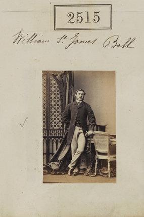 William St James Ball