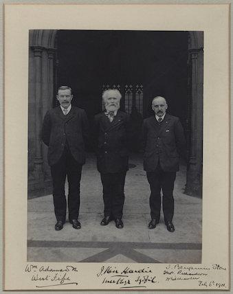 William Adamson; Keir Hardie; Thomas Richardson