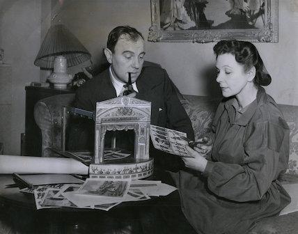 Sir Ralph Richardson; Doris Zinkeisen