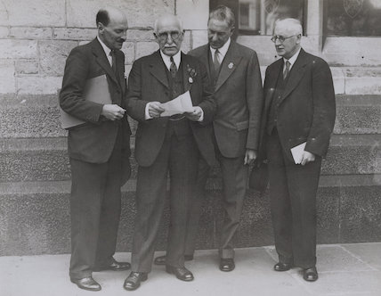 Clement Attlee; Allan A.H. Findlay; Walter McLennan Citrine, 1st Baron Citrine; James Smith Middleton