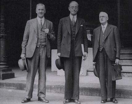 Walter McLennan Citrine, 1st Baron Citrine; James Smith Middleton