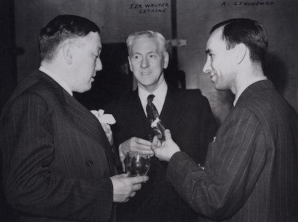Percy Cudlipp; Walter McLennan Citrine, 1st Baron Citrine; A. Zinchenko